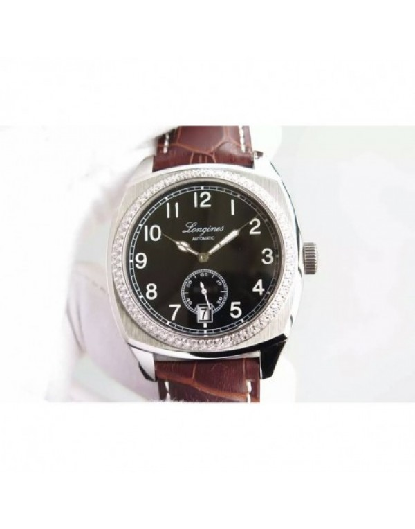 Replica Longines Heritage 1935 Stainless Steel &am...