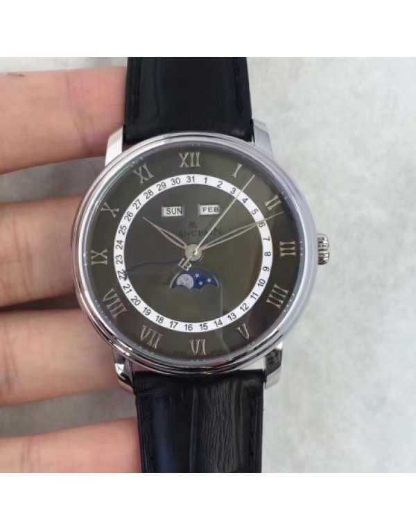 Blancpain Villeret 6654A-1127-55B BF Stainless Ste...